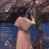 Meditation with Finzi's Dies Natalis performed by: Anderson, Braun, Campbell, Et Al