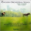 English Orchestral Songs - Hyperion album cover
