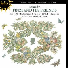 Songs by Finzi and His Friends album cover
