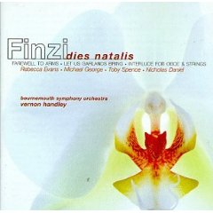 Conifer 51285 Finzi: Dies Natalis album cover