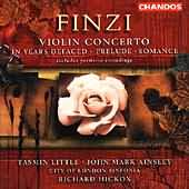 Finzi In Years Defaced six songs orchestrated Chandos, John Mark Ainsley album cover