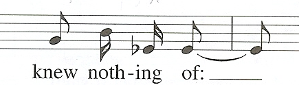 measures 7-8 text setting
