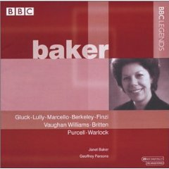 Baker: BBC Legends album cover