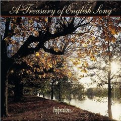 A Treasury of English Song - Hyperion album cover